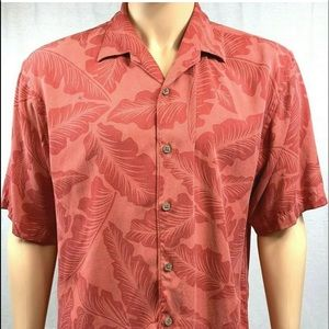 Other - Tommy Bahama shirt size large salmon pink